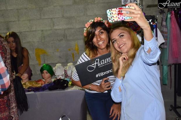 With Designer and Beauty Blogger- El-Jammi (Flaunt Fashion Attraction Photo)