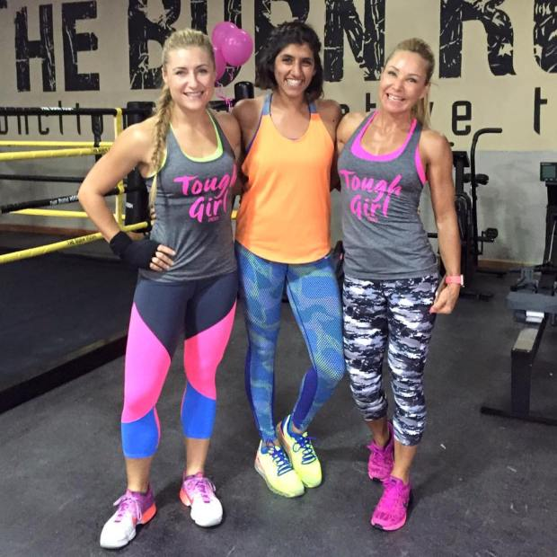With Nadine and Hanlie ( Fitness Queens I admire)