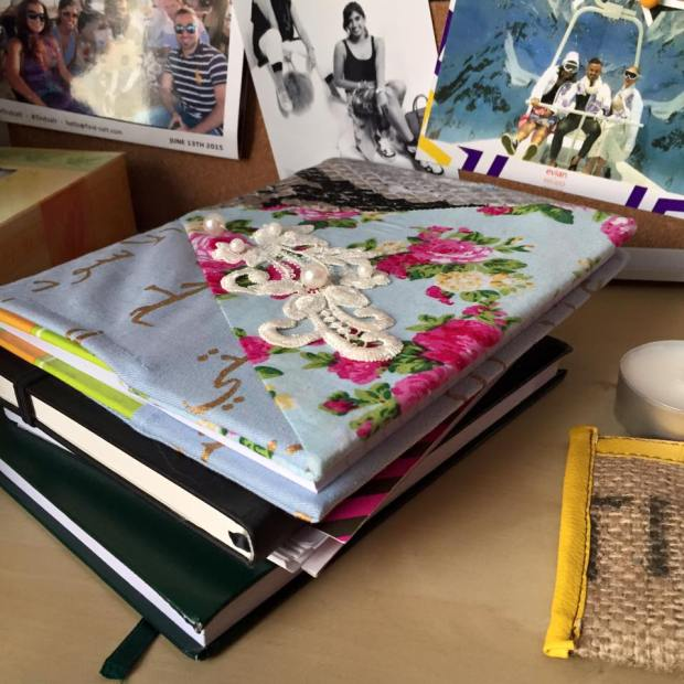 Hafsa Lodi and my Journals