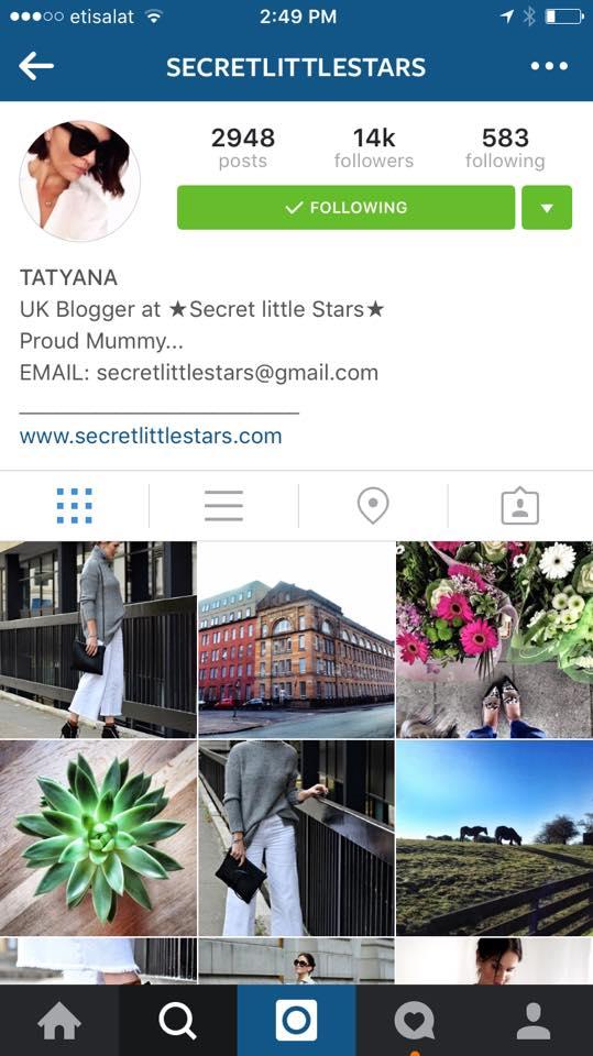 Tatyana from Secret Little Stars
